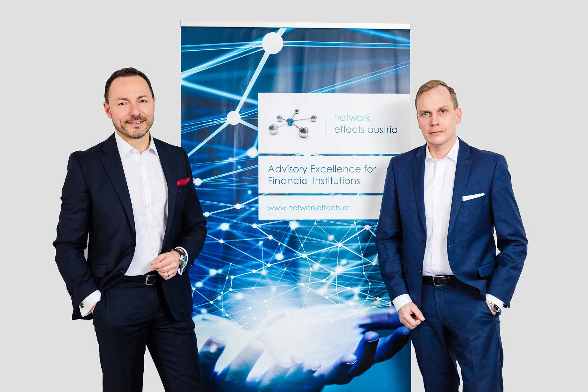 Network Effects, Martin Steger (links) und Sebastian Fischer